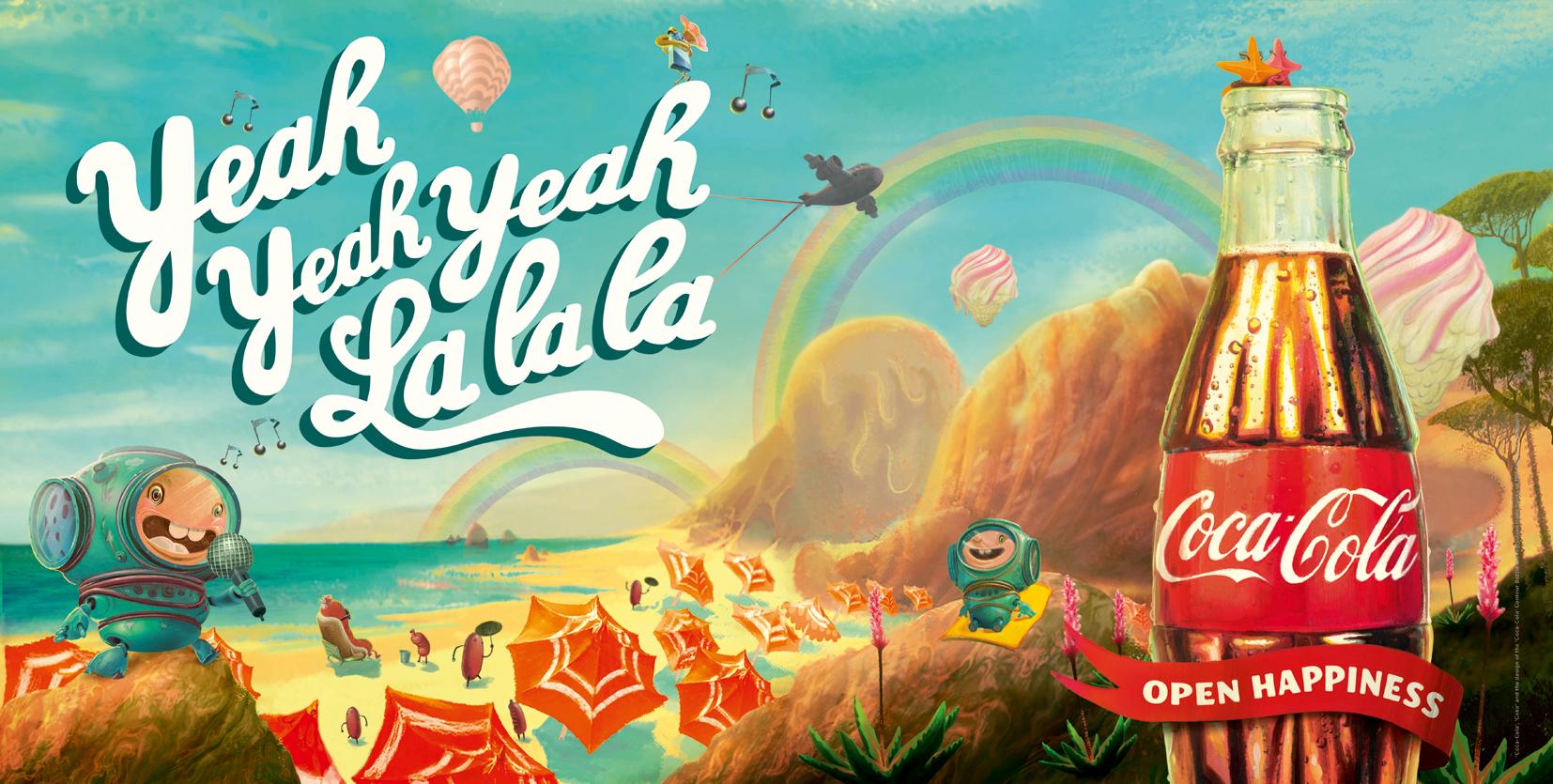 Coke Yeah Yeah Yeah La La La Beach 48