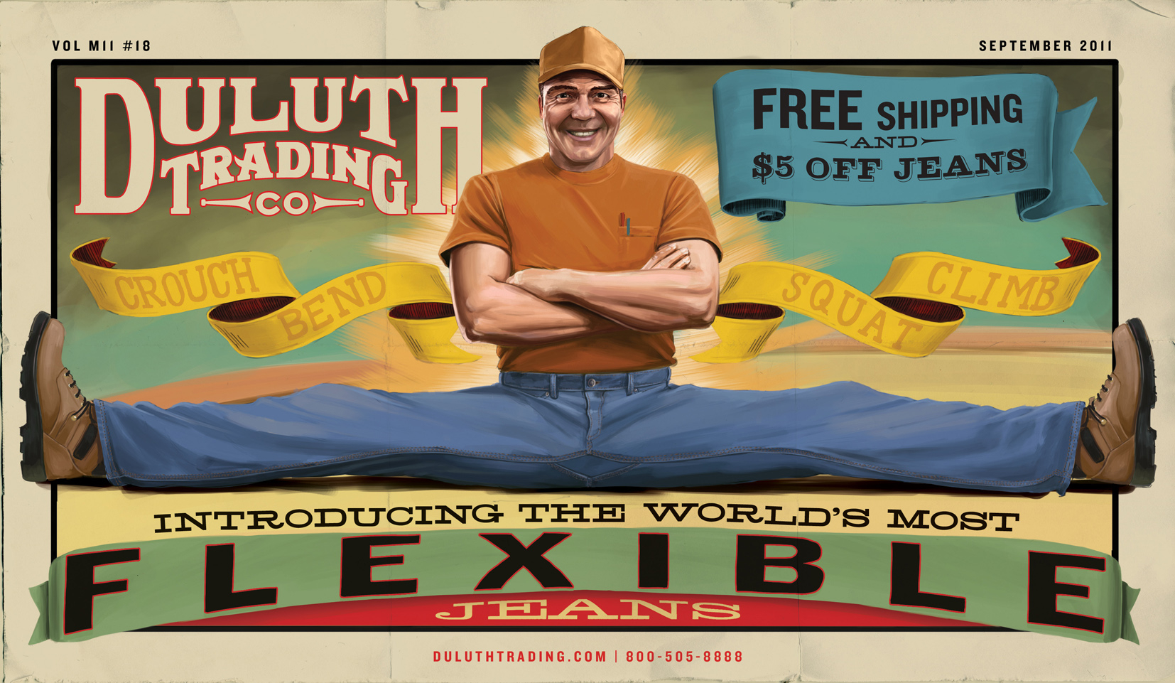 Duluth Trading Co Poster