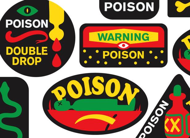 Poison Logos