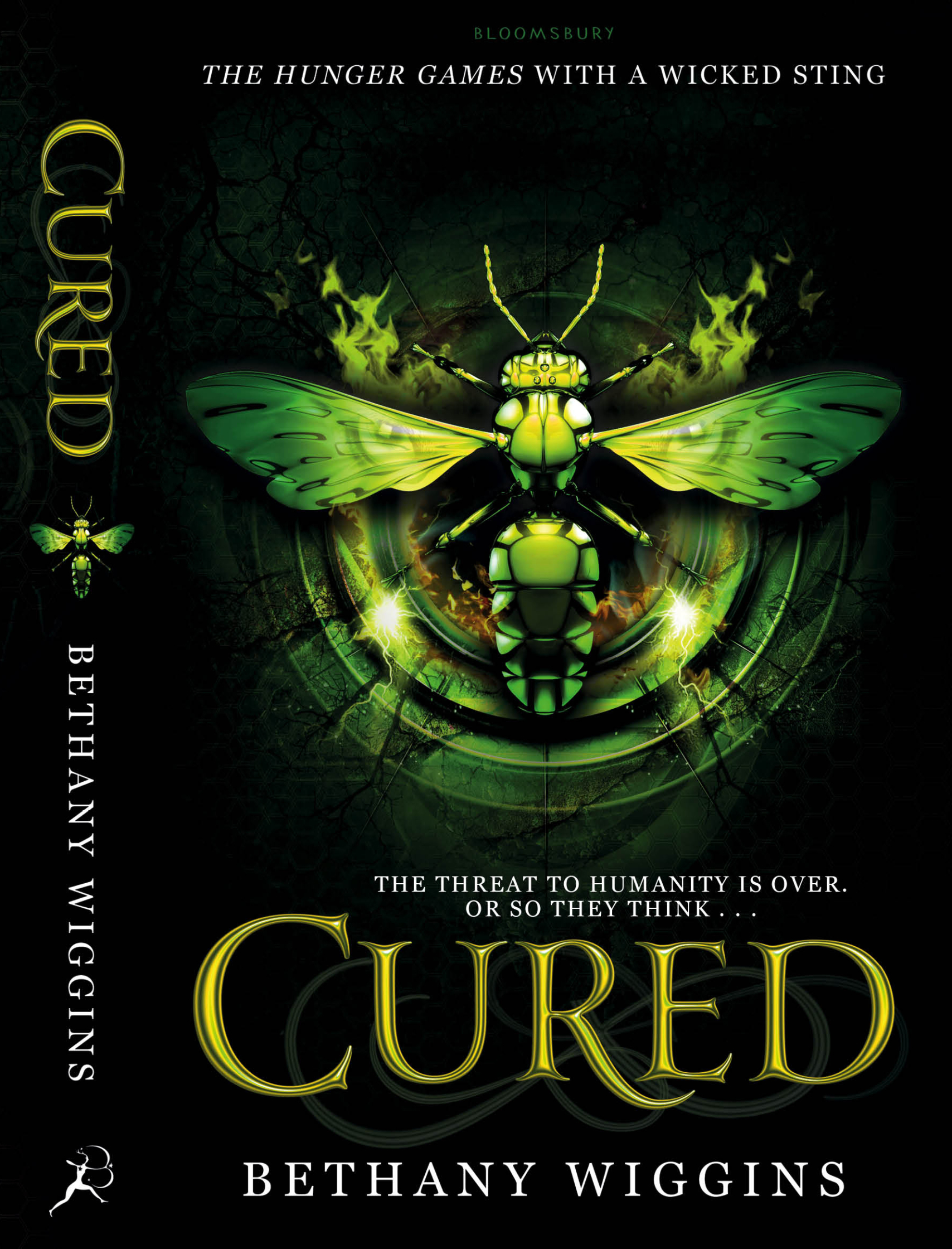 Bethany Wiggins / Cured Book Cover