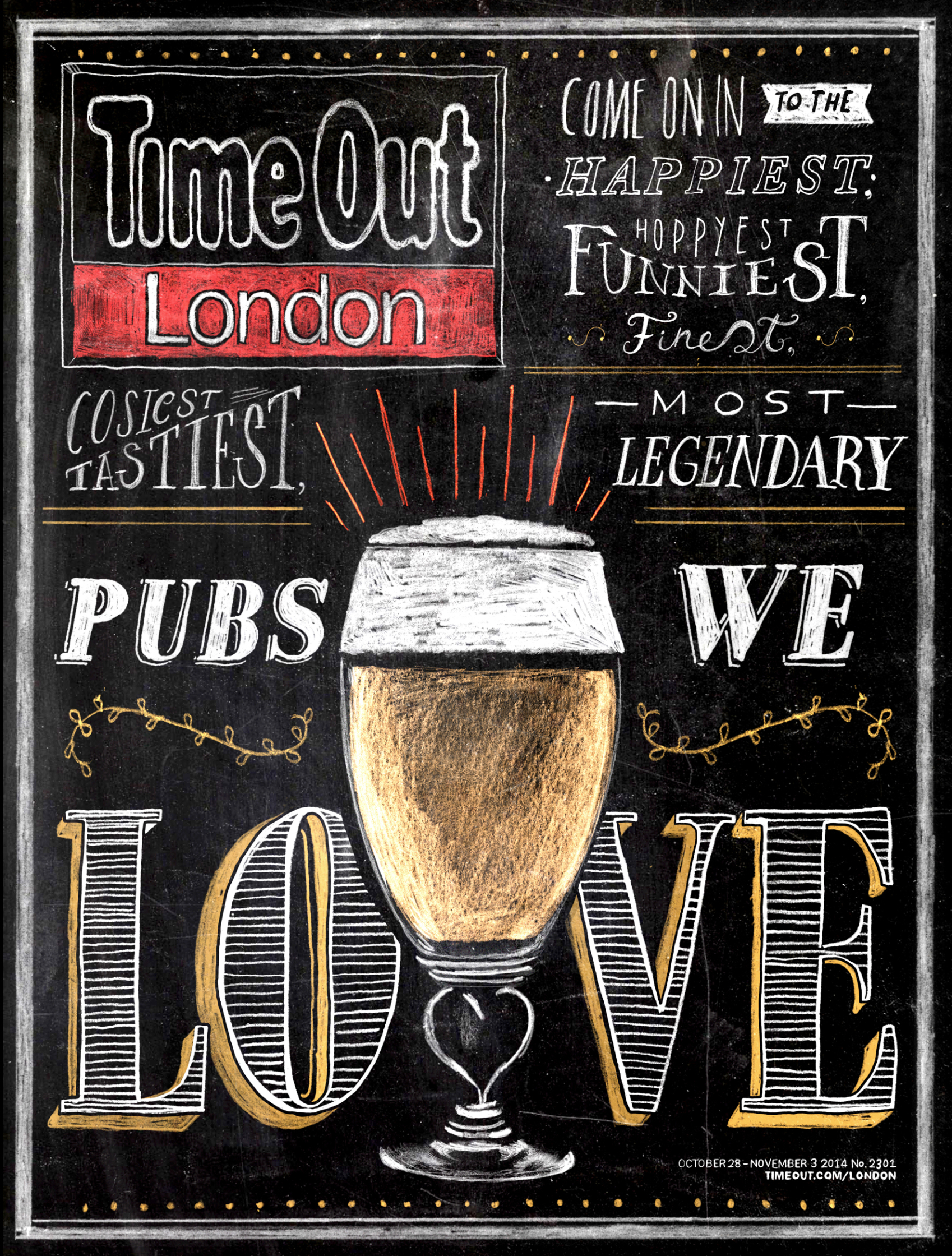 Pubs We Love Cover / Time Out Magazine