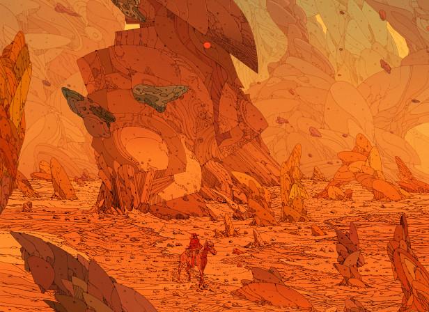 Kilian Eng 70 S Retro Sci Fi Artists Debut Art