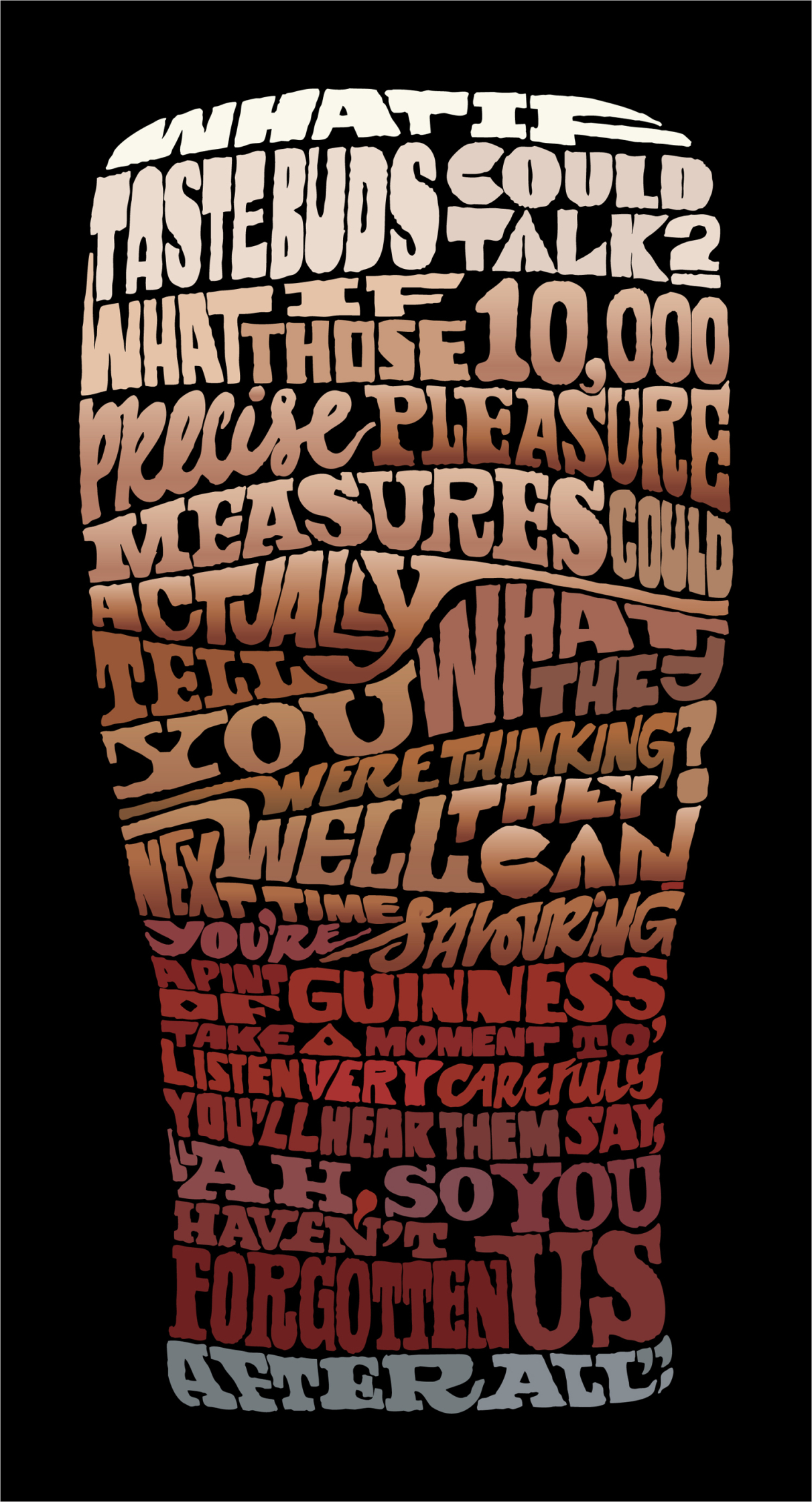 Guiness Type Poster 2