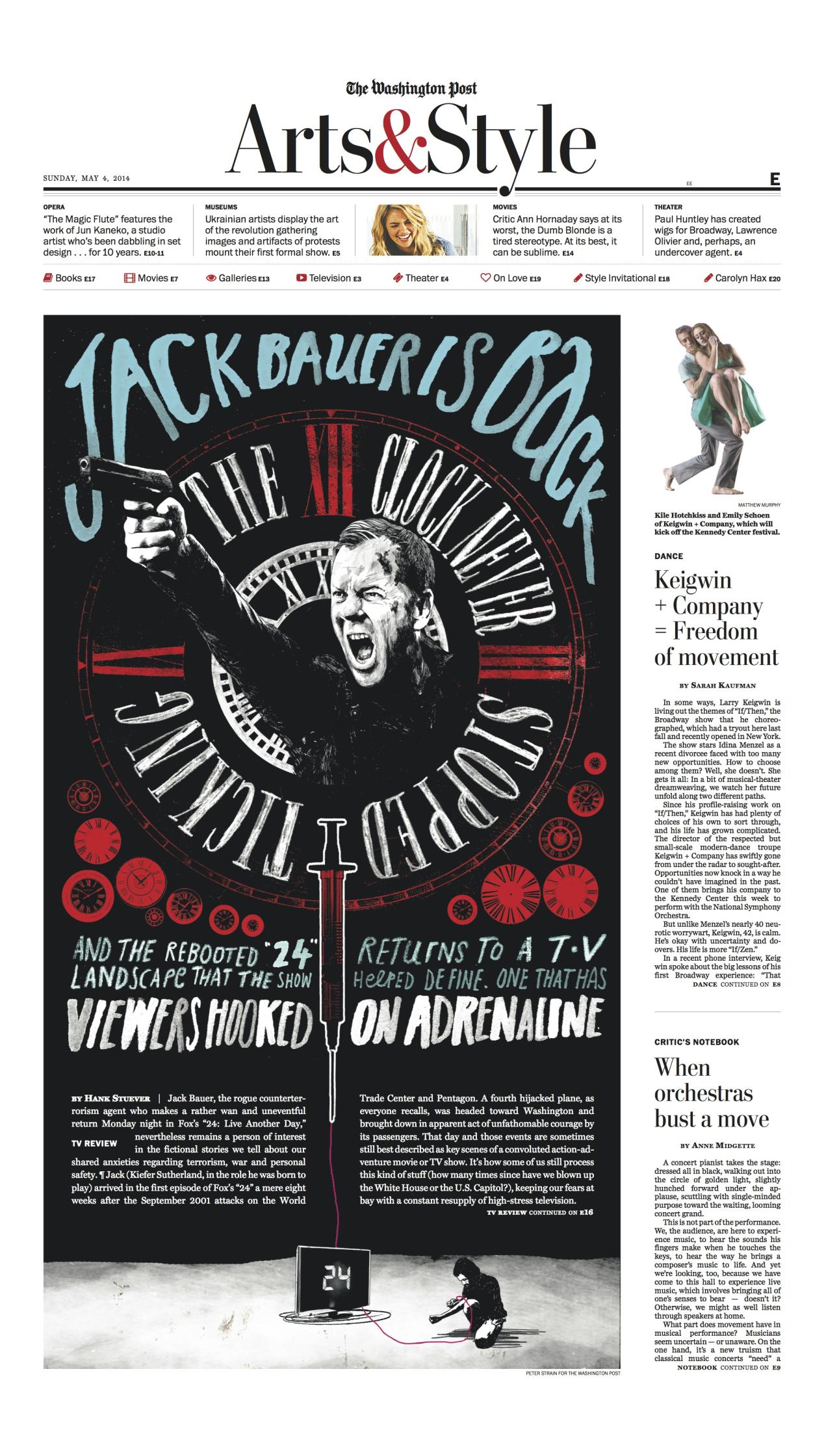 "The Washington Post ""24 - Jack Bauer is Back"""