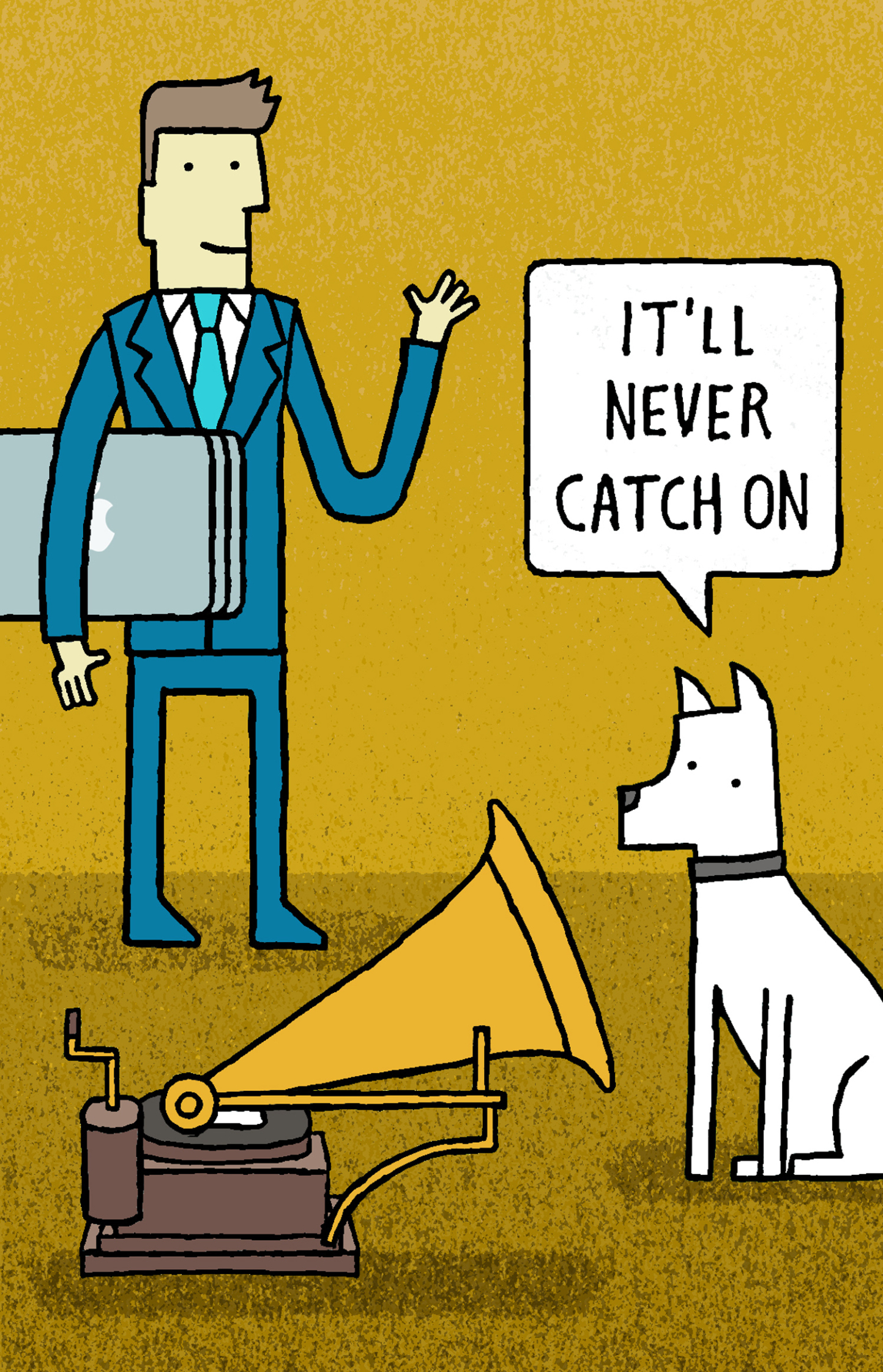 It'll Never Catch On / NUJ