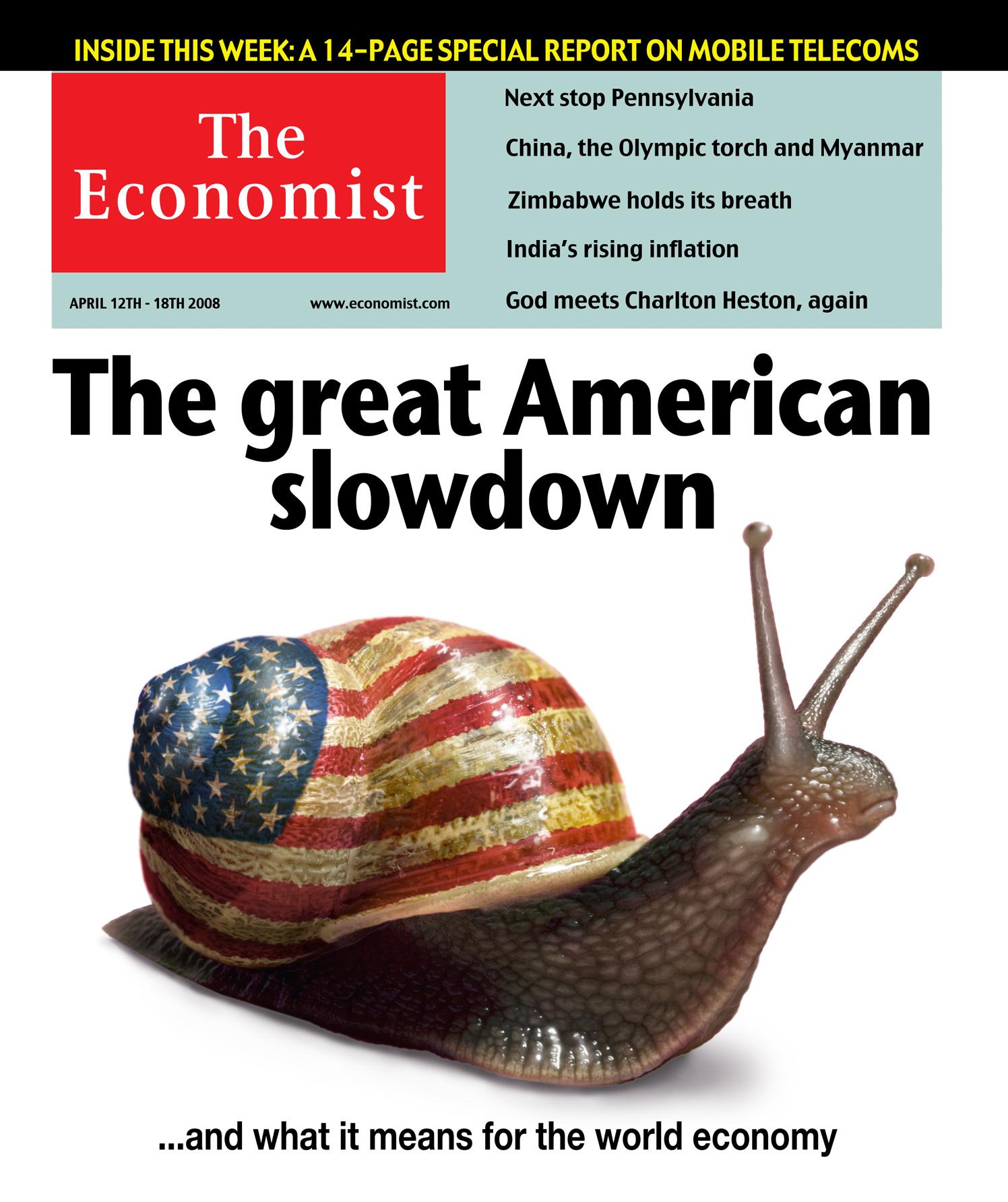 The Great American Slowdown / The Economist