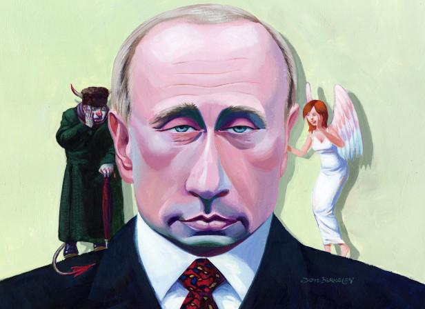 Vladimir Putin Good Evil