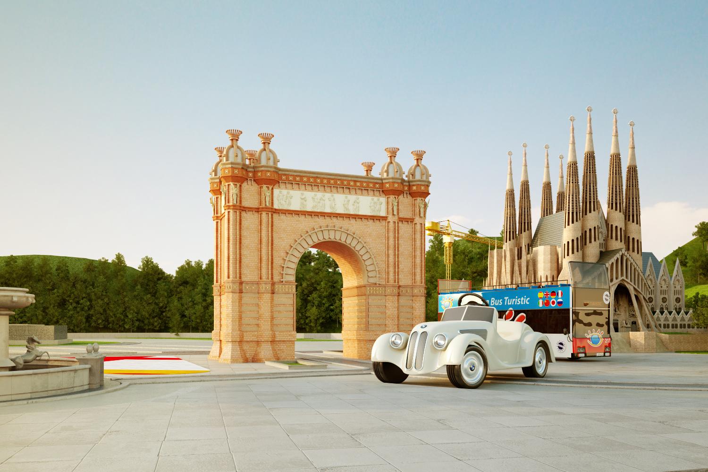 BMW Barcelona Arc de Triomf