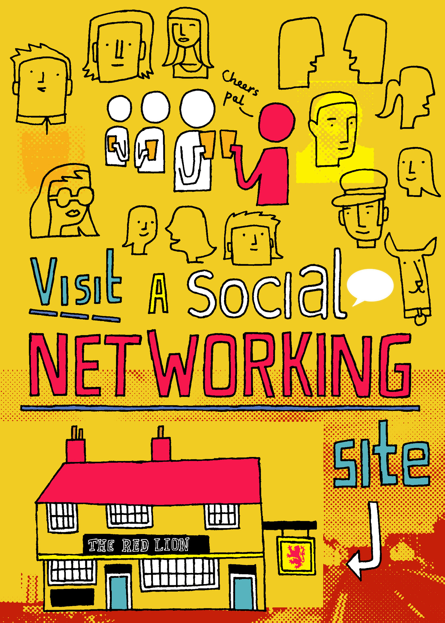 Visit A Social Networking Site