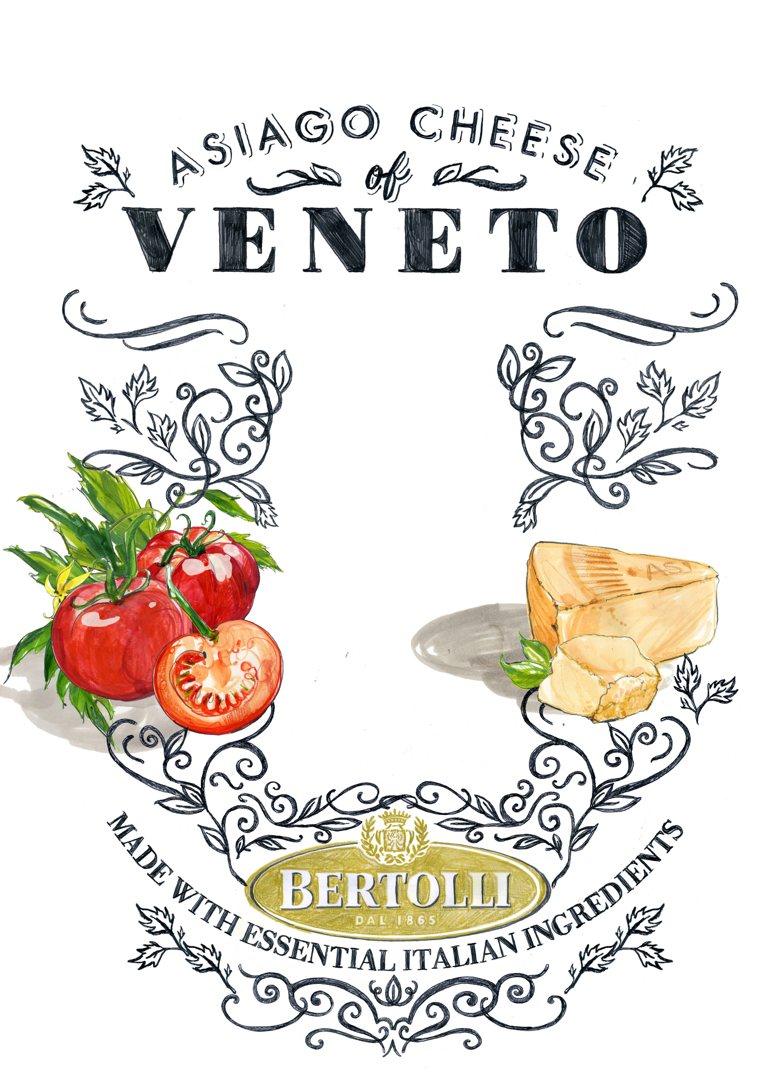 Veneto Tomatoes Parmesan Cheese Bertolli Pasta Sauce Mother Advert