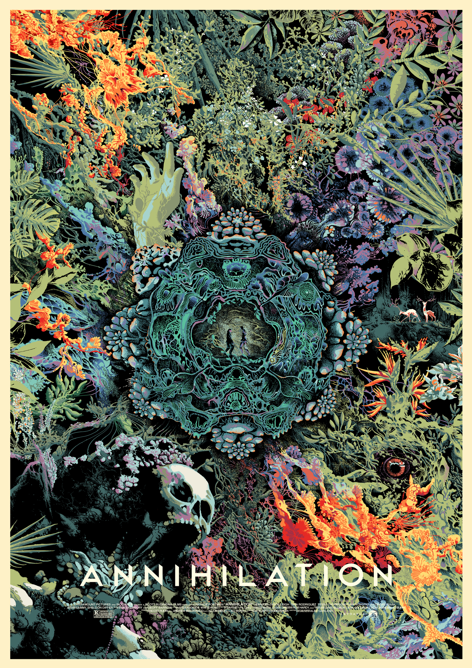 Annihilation private screen printed poster commission.jpg