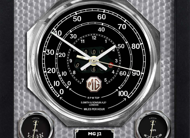 MG J2 Wall Clock
