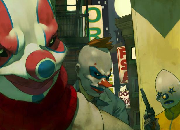 Batman And The Clown Gang