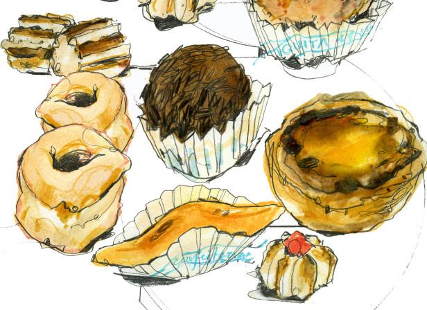 Portuguese Pastries Reportage