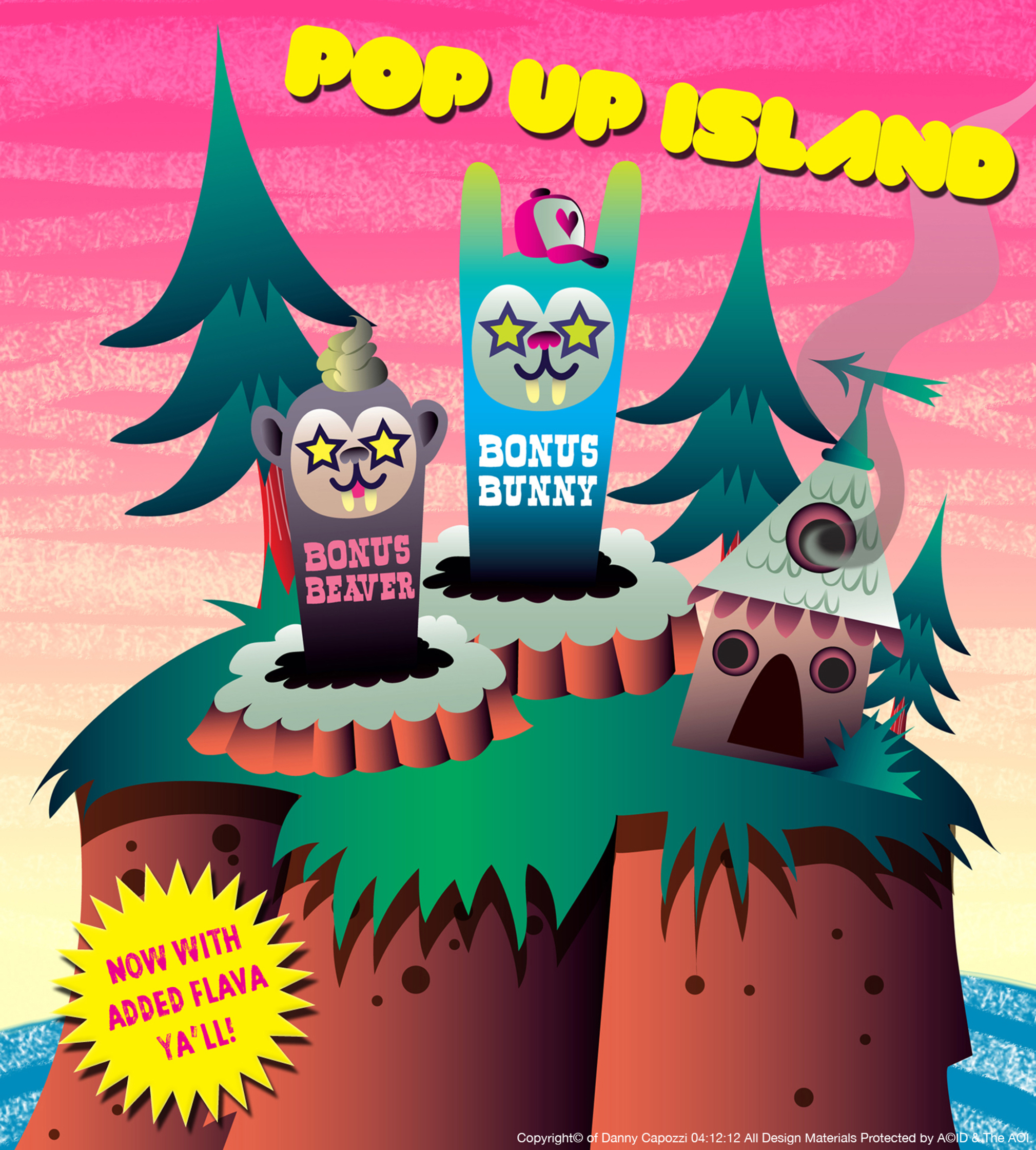 Pop Up Island App Game