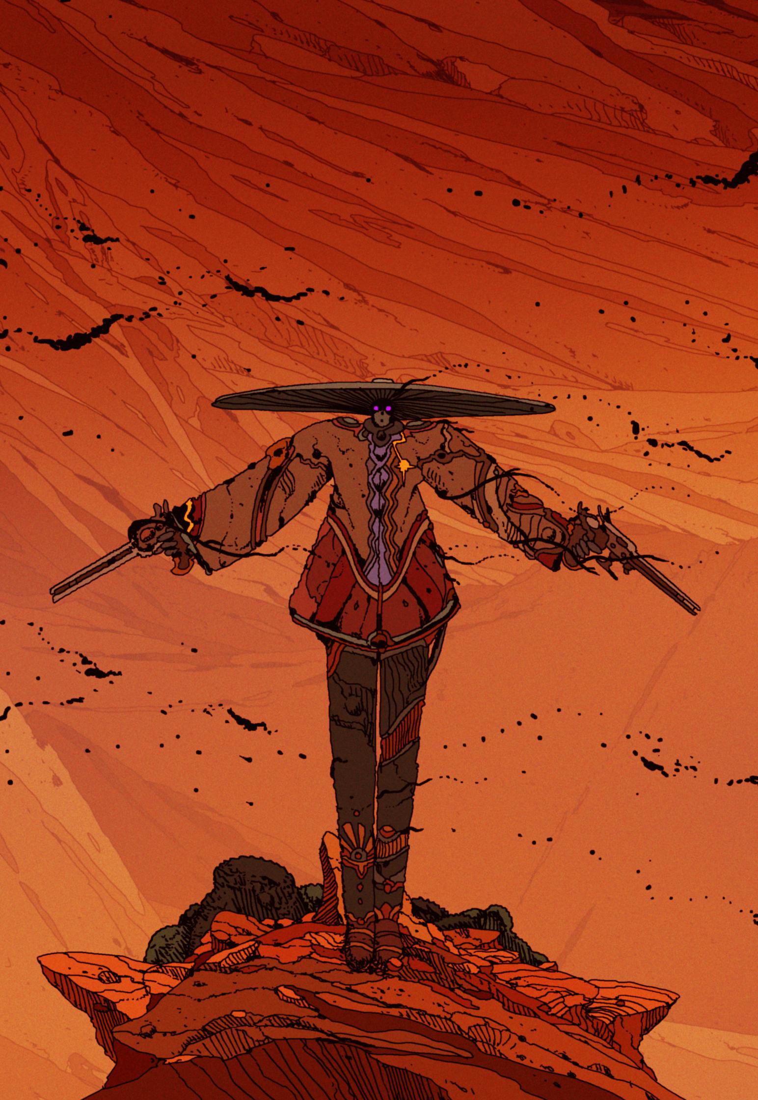 Gunslinger personal work.jpg