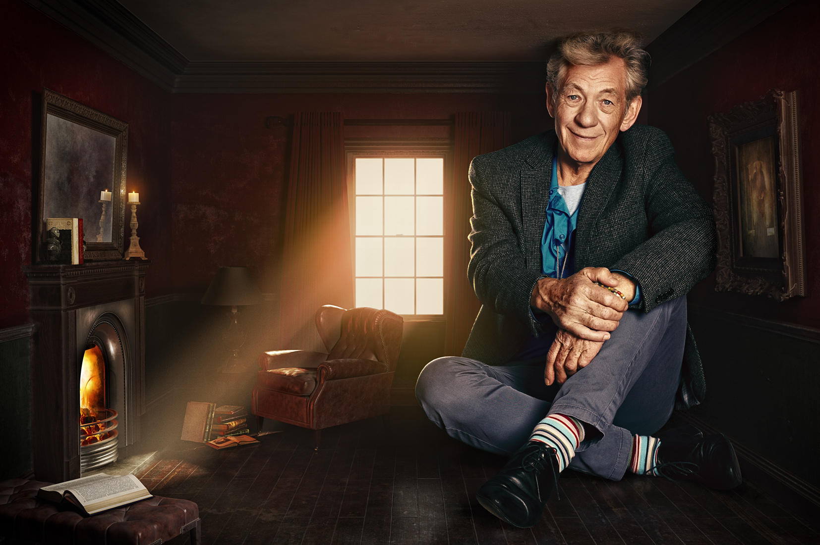 Ian McKellen / Empire Magazine