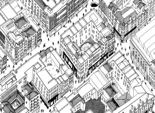 Map of Covent Garden / Christopher Raeburn