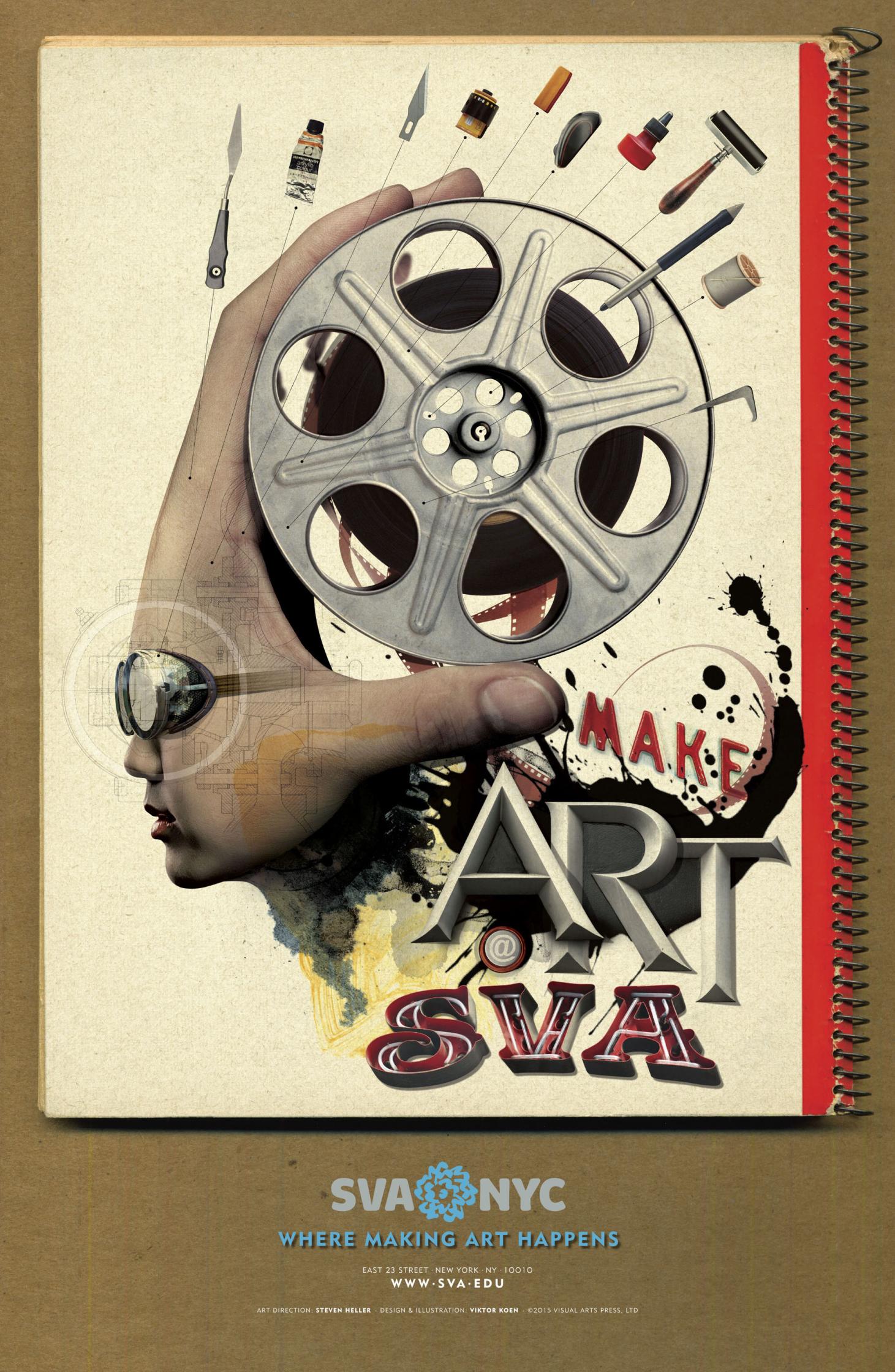 Make Art Poster 3 SVA