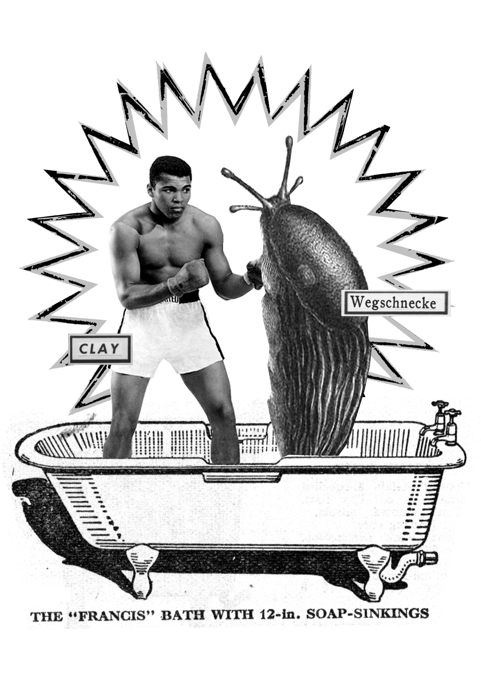 Boxing Mohammad Ali Slug