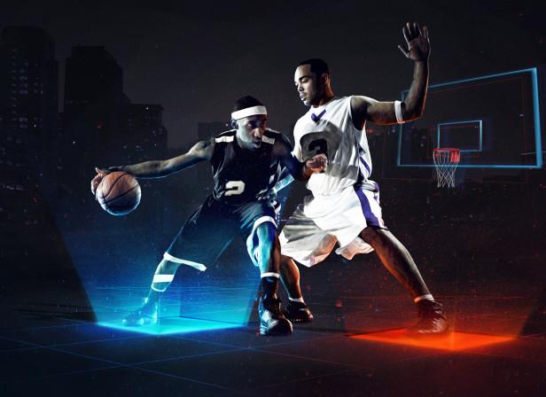 Basketball Neon Game