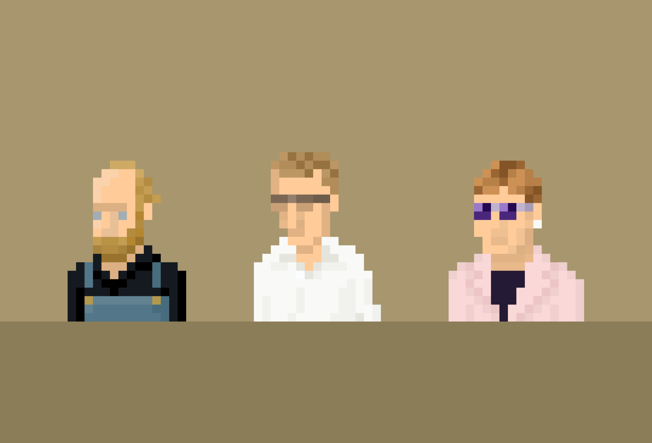 Will Oldham, Woody Allen, and Elton John
