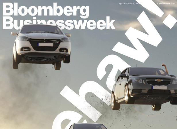 Bloomberg Businessweek, Big Three Cover