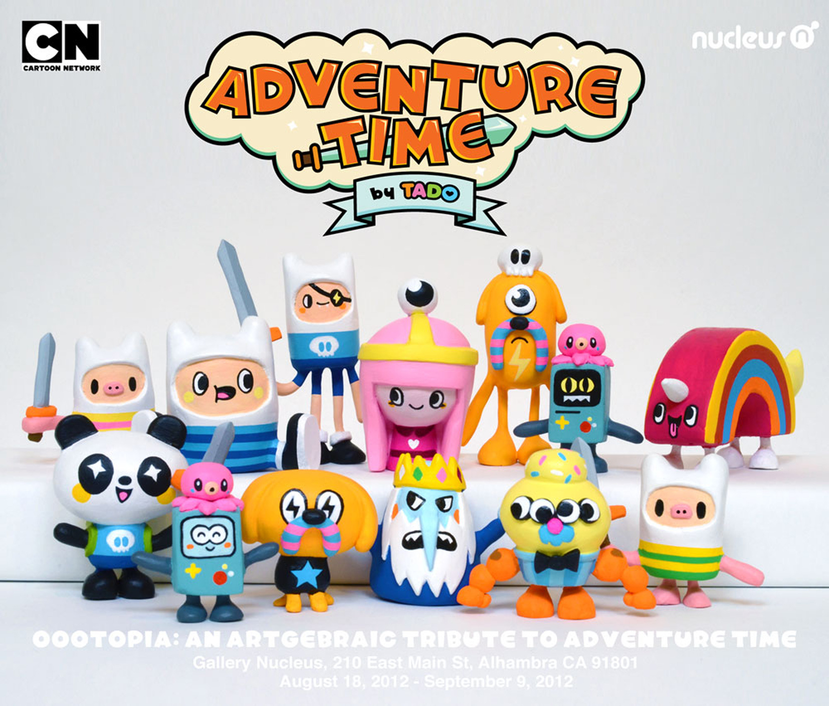Adventure Time Paperclay Figures