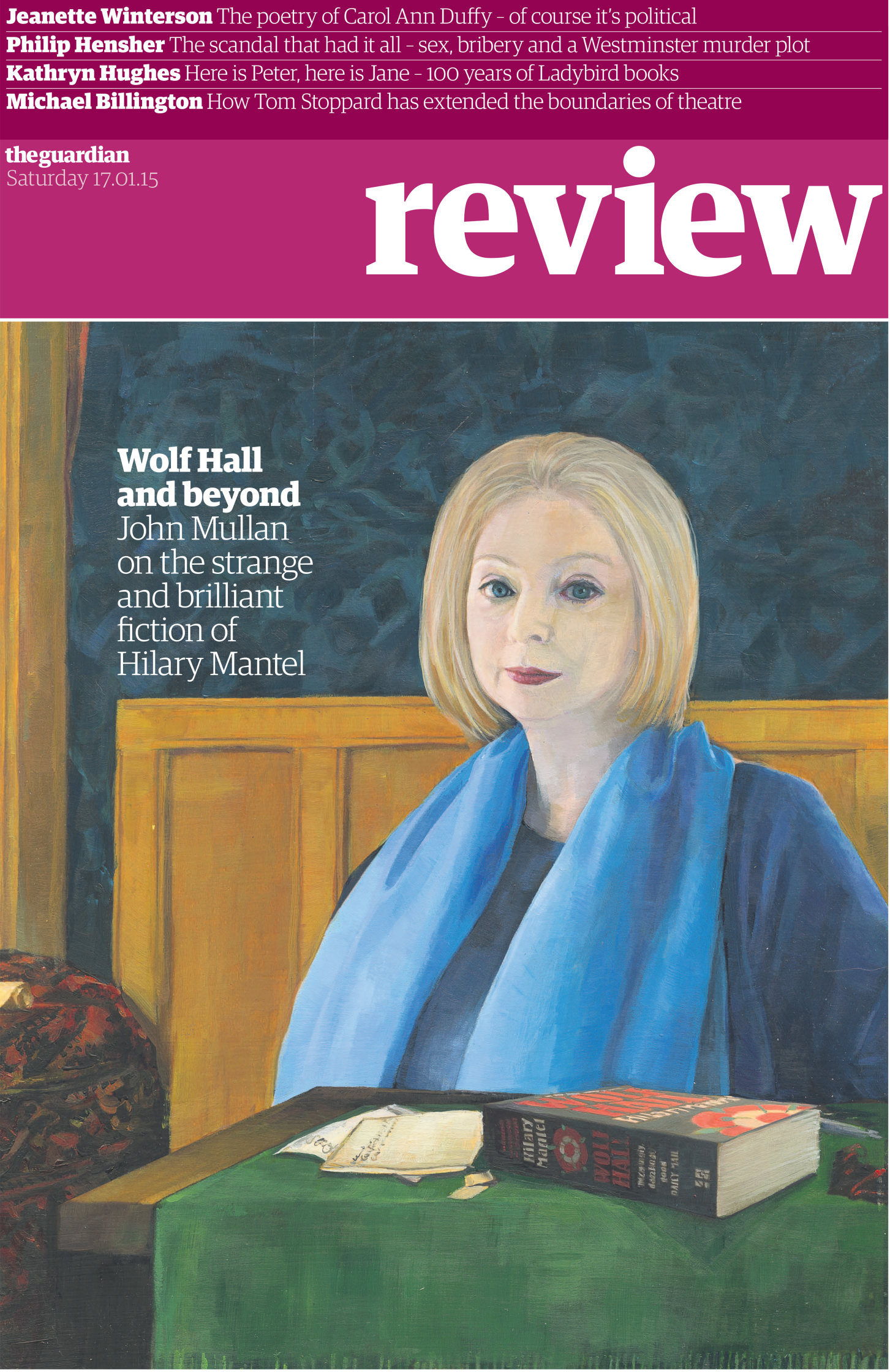 Hilary Mantel Wolf Hall Guardian Review