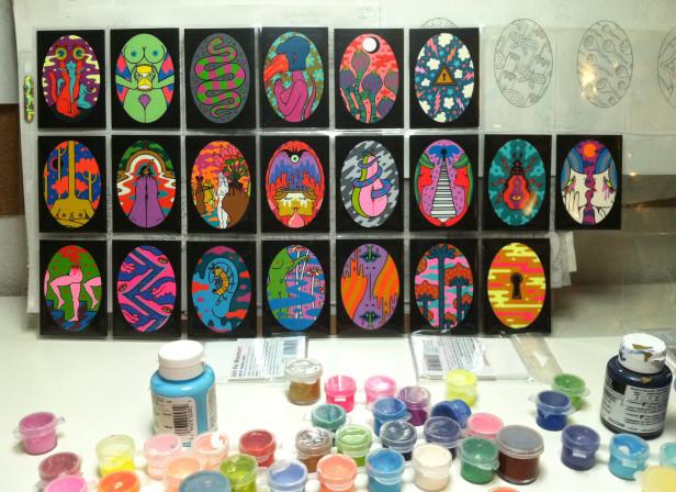 50 Paintings WIP