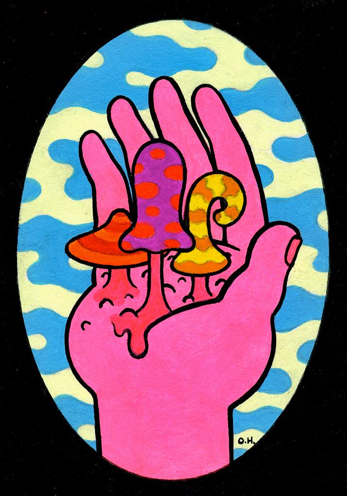 Mushroom Gloom Suite Hand