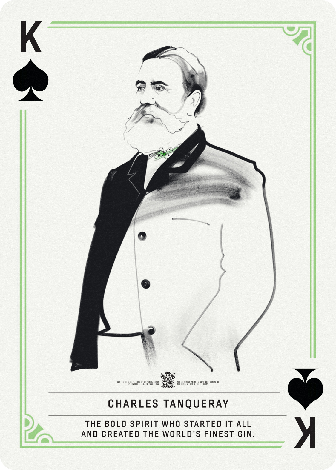 King of Spades / Charles Tanqueray