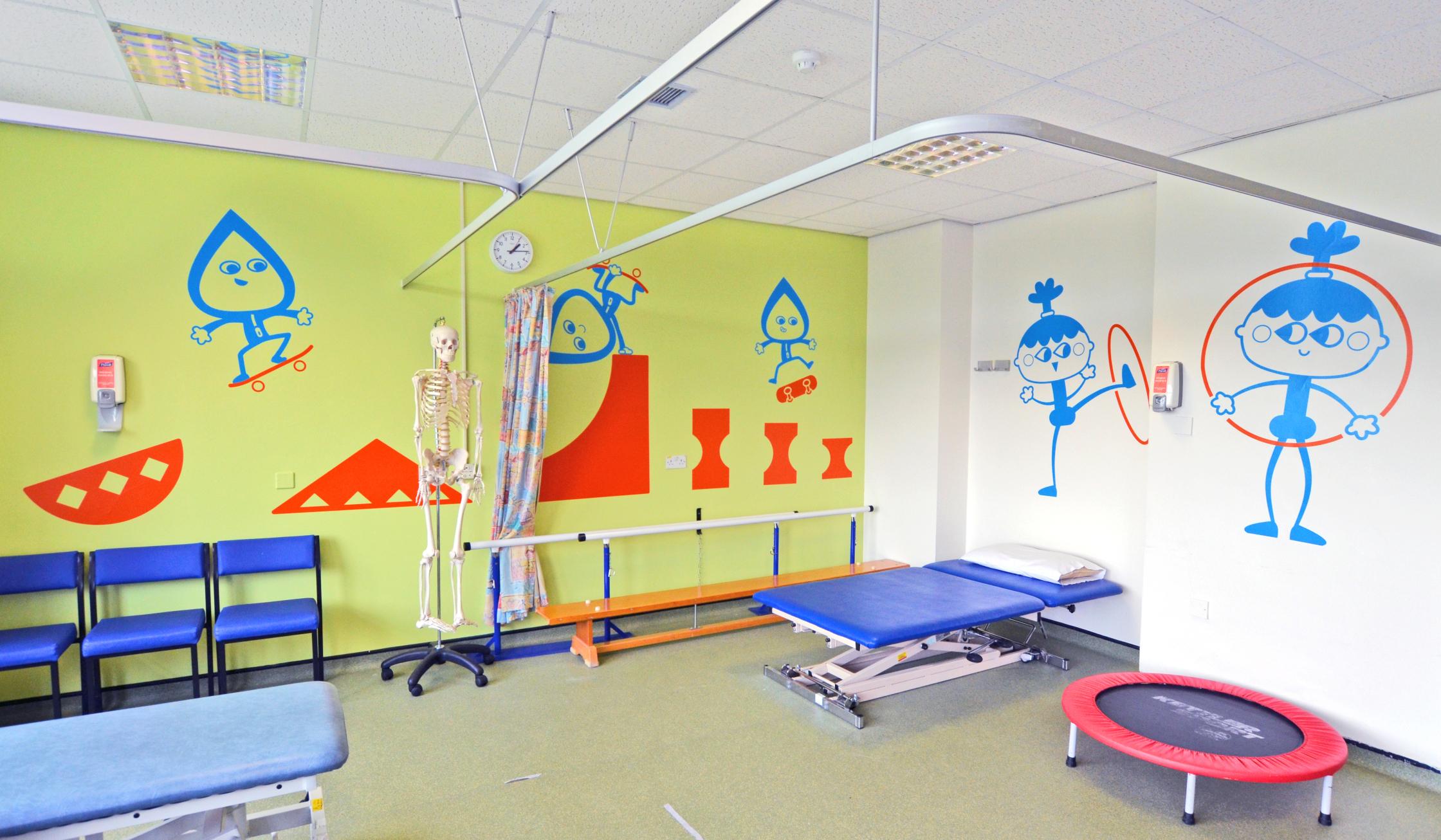Sheffield Childrens Hospital Physio Gym 1