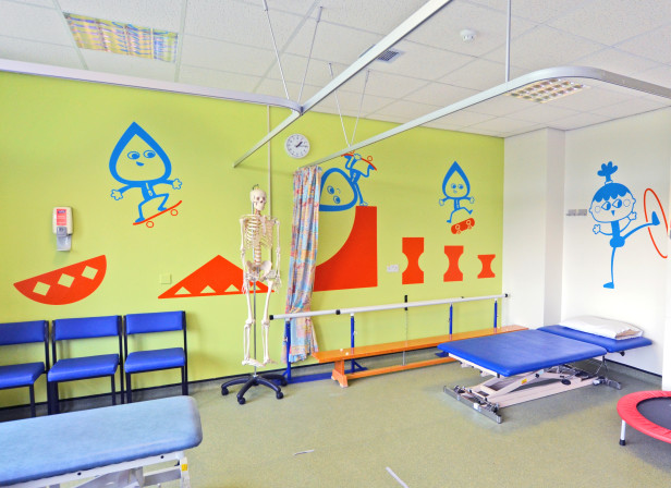 Sheffield Childrens Hospital Physio Gym 1