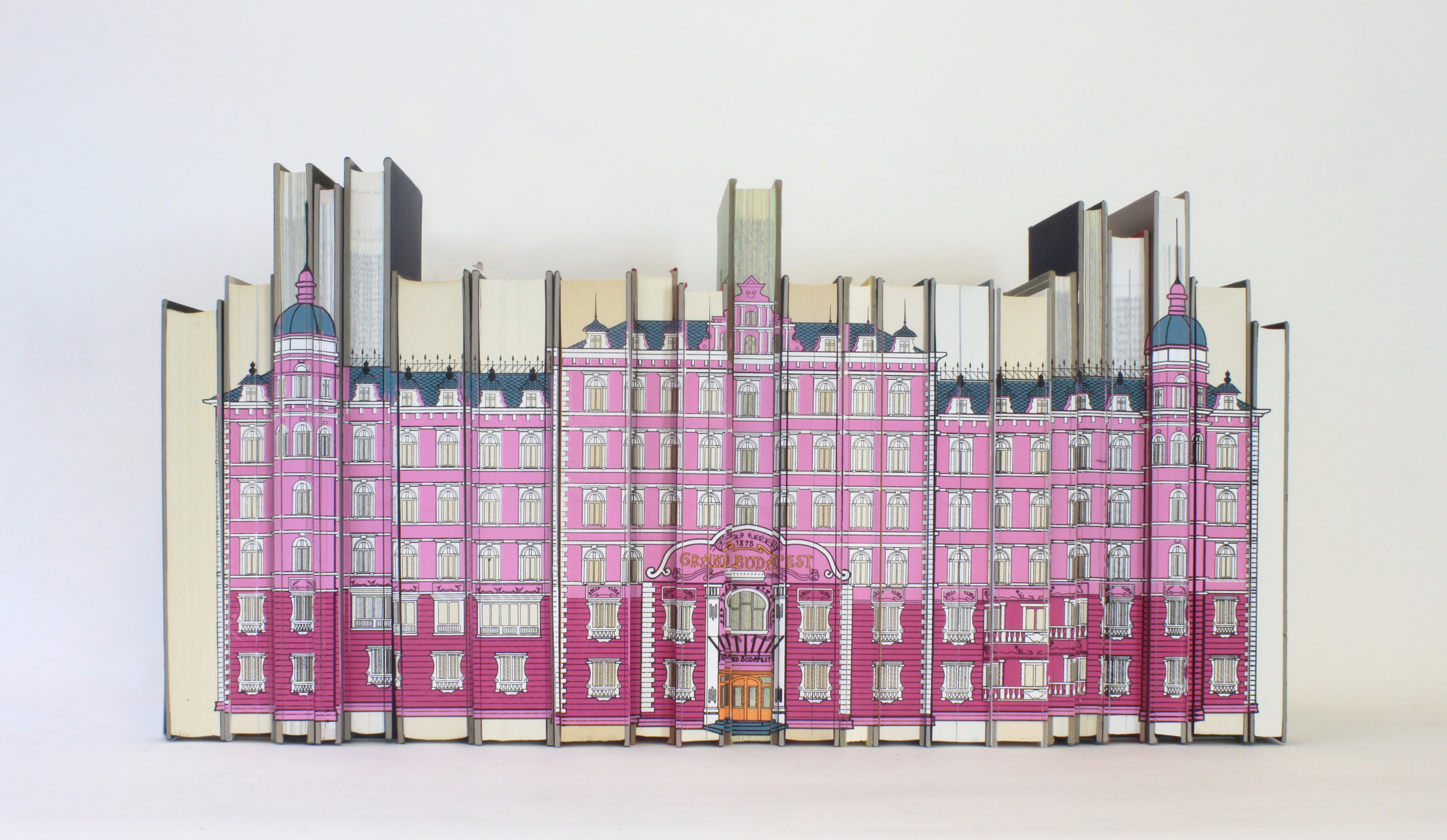 Grand Budapest Hotel 2 Wes Anderson Book Block