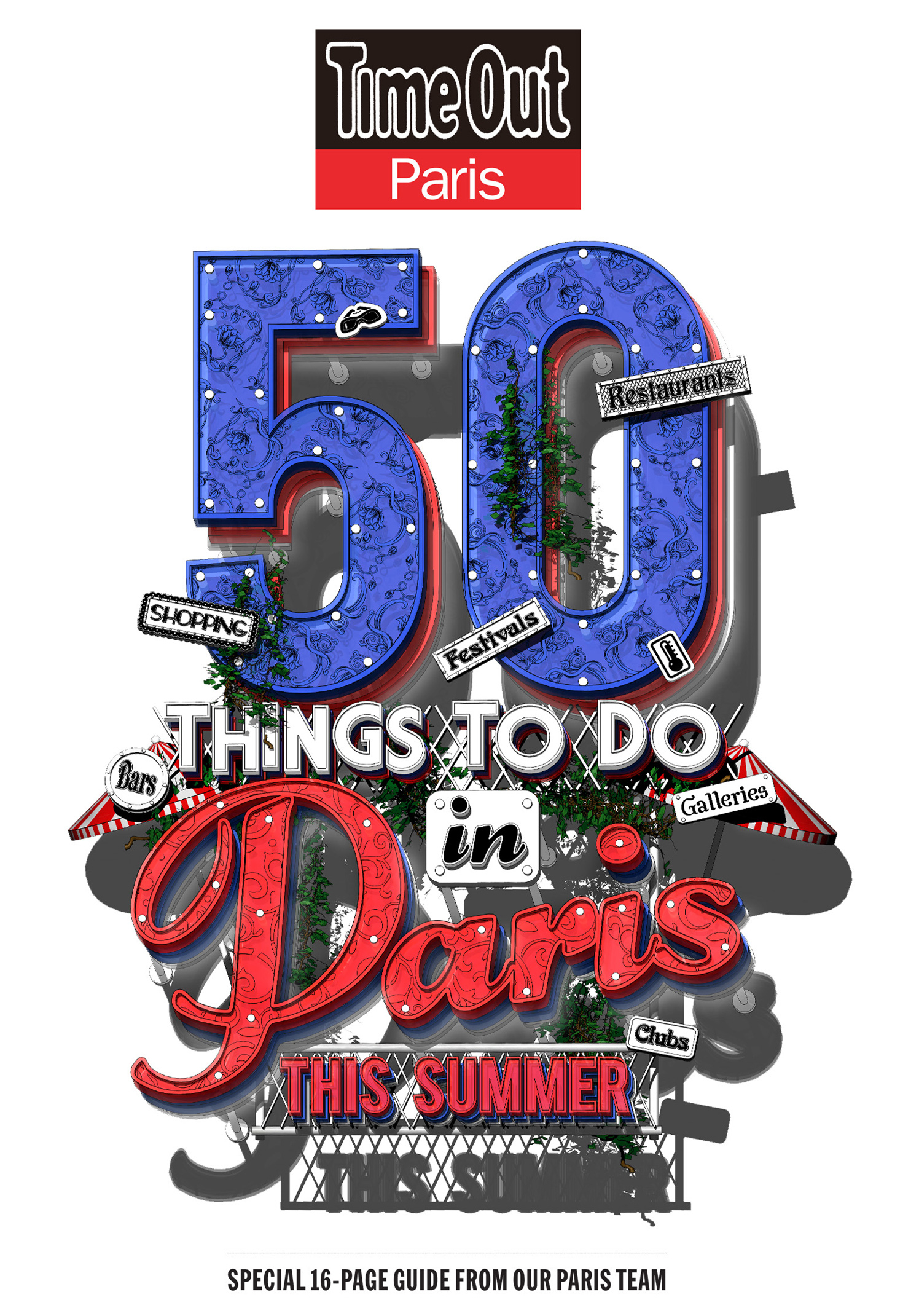 50 Things To Do In Paris This Summer / Time Out Paris